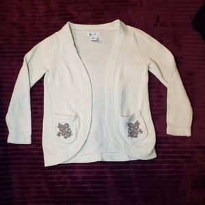 Willow blossom cute girls embroidered sweater